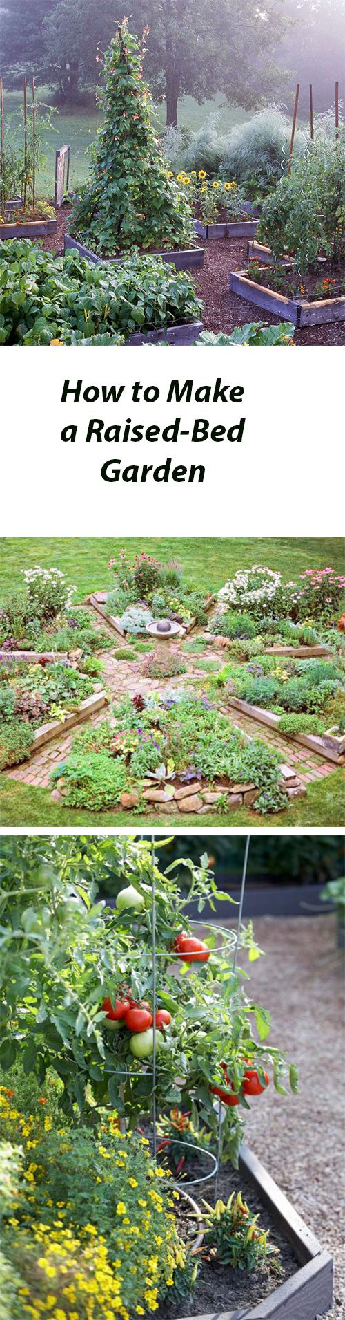Tips for building a great raised-bed garden for flowers or vegetables: http://www.midwestliving.com/garden/ideas/how-to-make-a-raised-bed-garden/