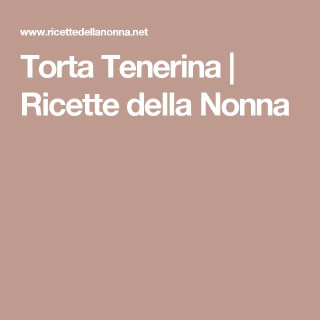 Torta Tenerina | Ricette della Nonna
