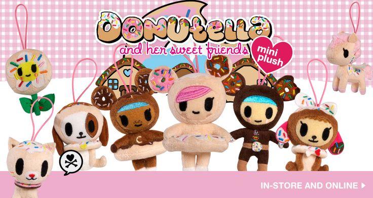 Donutella & Her Sweet Friends tokidoki Donutella & Her