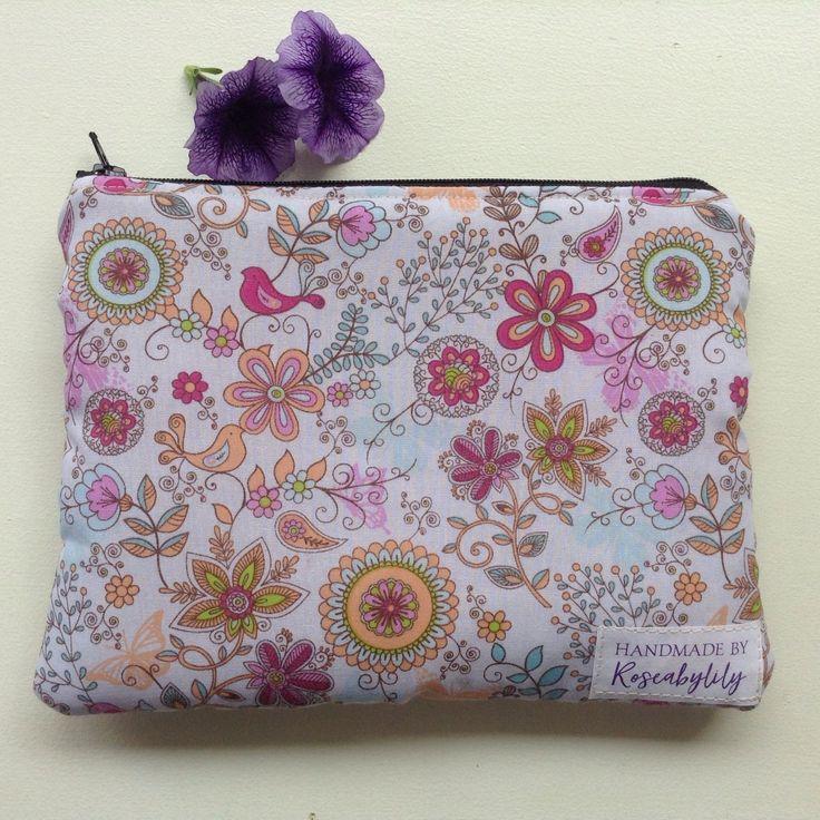 Pencil Case, Pencil Pouch, Zipper Case, School Organiser, Mini Makeup Bag, Mini Cosmetics Bag, Mini Toiletry Bag, Bird gift