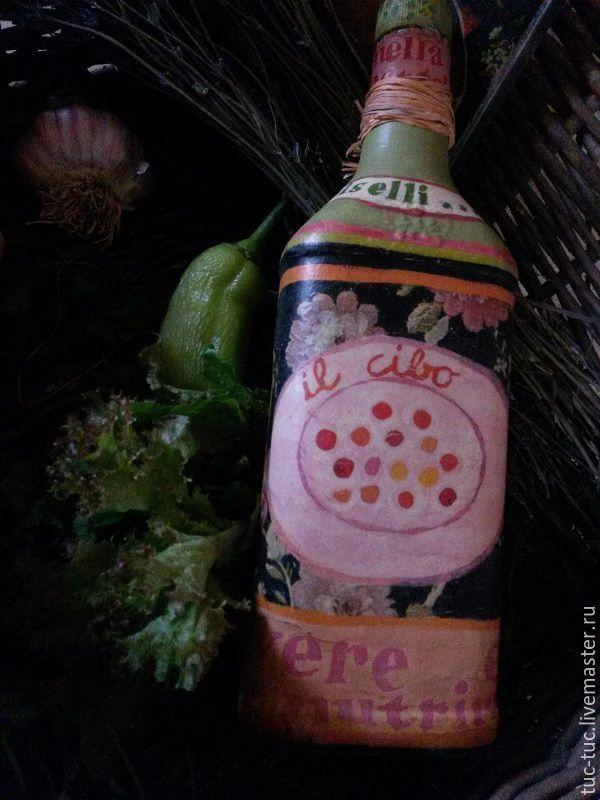 """Купить Набор для кухни """"Бистро"""" - набор для кухни, доска разделочная, бутылка для масла, интерьер"""