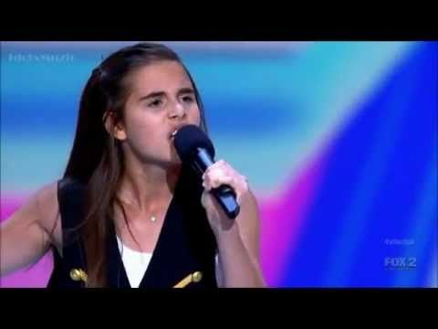 The X Factor USA 2012 - Carly Rose Sonenclar's Audition.  http://worldofpopculture.com/2012/09/my-pick-for-top-x-factor-contestant/