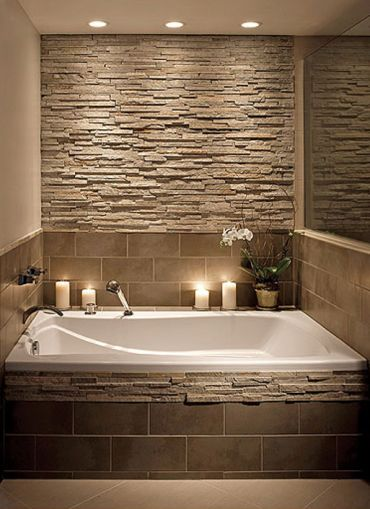 Would like the faucet on the wall love the tub