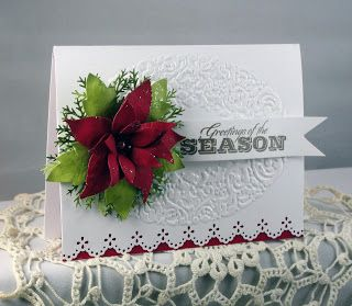Audrey's Paper Garden Inspirations: Greetings of the Season Christmas