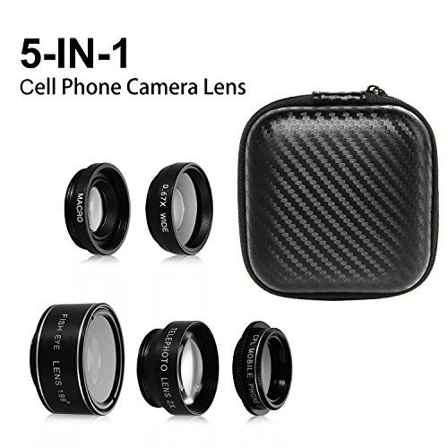 SIMTRIX 5 in 1 Macro phone lens kit for iphone ,Samsung Galaxy & android samrtphone &tables with Wide Angle Lens, Fisheye Lens, Polarizer Lens and Telephoto Lens  https://topcellulardeals.com/product/simtrix-5-in-1-macro-phone-lens-kit-for-iphone-samsung-galaxy-android-samrtphone-tables-with-wide-angle-lens-fisheye-lens-polarizer-lens-and-telephoto-lens/  5 in 1 HD Camera Lens Kit- 198°Fisheye Lens+0.67x Wide Angle+15x Macro Lens+2X Telephoto Lens+CPL Lens, No need t