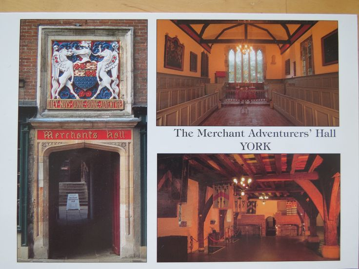 the merchant adventurers' hall, York, UK - SENT TO GERMANY October 2017