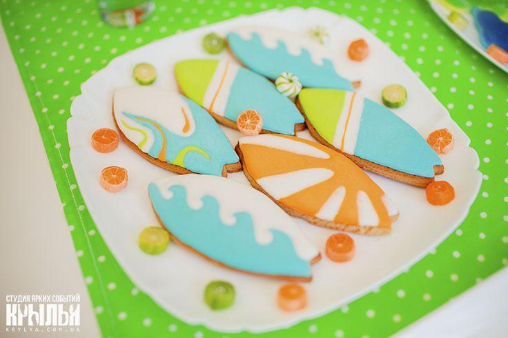 печенье в виде доски для сёрфинга - Поиск в Google