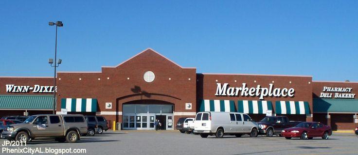 alabama grocery store pics | WINN DIXIE PHENIX CITY ALABAMA Marketplace, Winn Dixie Grocery Store ...