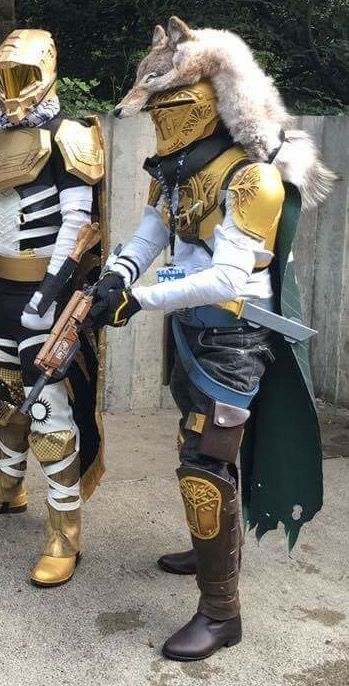[Self] Cosplaying as an Iron Banner Hunter from Destiny (PAX West 2016) Guardian_Down_