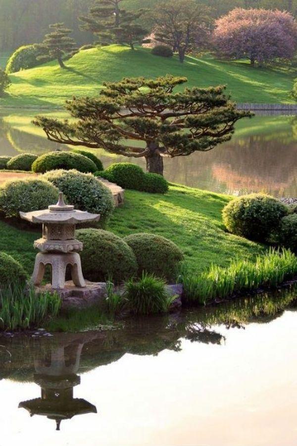 les 25 meilleures id es concernant jardin asiatique sur pinterest jardins japonais style de. Black Bedroom Furniture Sets. Home Design Ideas