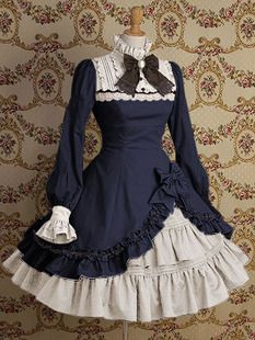 Gothic Lolita - I love the frills. A bit over the top for everyday wear though.
