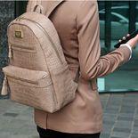 Monopoly Leather Backpack v2