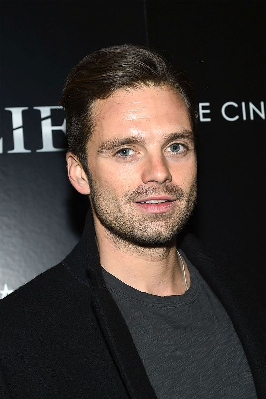 Sebastian Stan attends the special screening of 'Allied' hosted by Paramount Pictures with The Cinema Society & Chandon at iPic Fulton Market on November 15, 2016 in New York City.