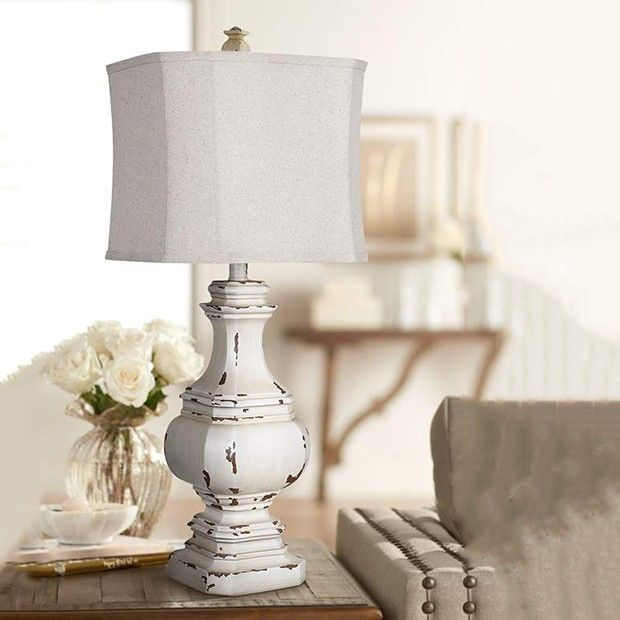 Antiqued Table Lamp In 2020 Antique Table Lamps Farmhouse Table Lamps Antique Table