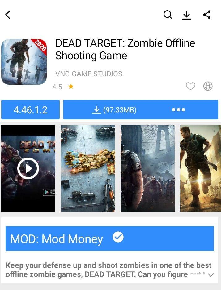 Download Game Dead Target Mod Apk : download, target, Target, Market, Dead,, Shooting, Games,