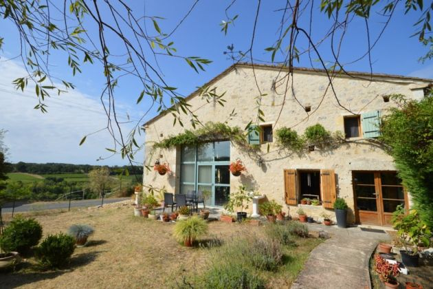A converted barn for sale in Dordogne.