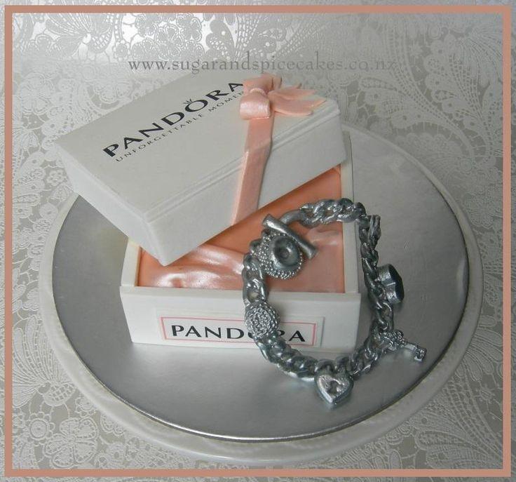 Pandora for a wedding table  - Cake by Mel_SugarandSpiceCakes