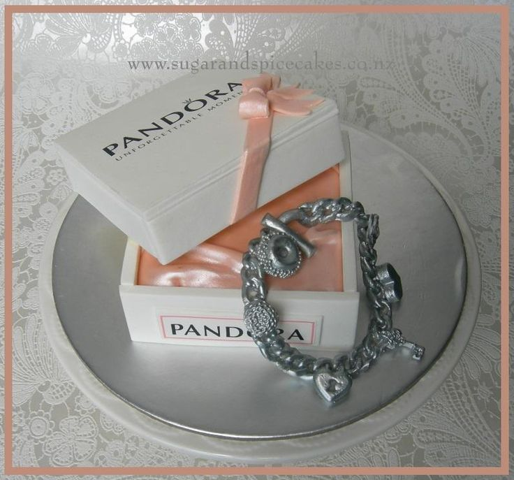 Pandora for a wedding table  - Cake by Mel_SugarandSpiceCakes