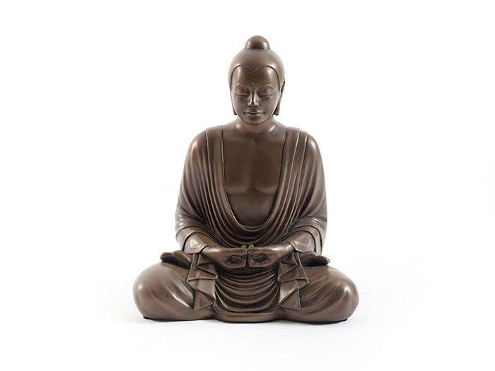 Sitting Buddha PH60363 Phillips Collection / Интерьерные скульптуры / Декор, аксессуары