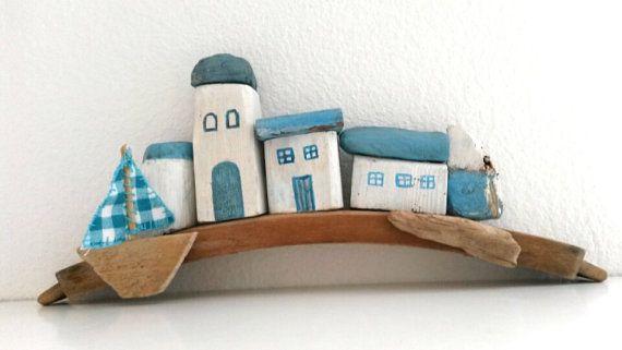 Driftwood House Mini House casa bianca casa di WillyaCollection