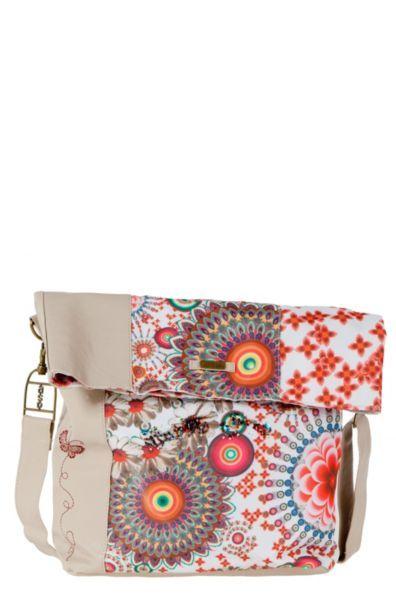 Bolsa Desigual Ibiza Rojo Mandala 100% polyester