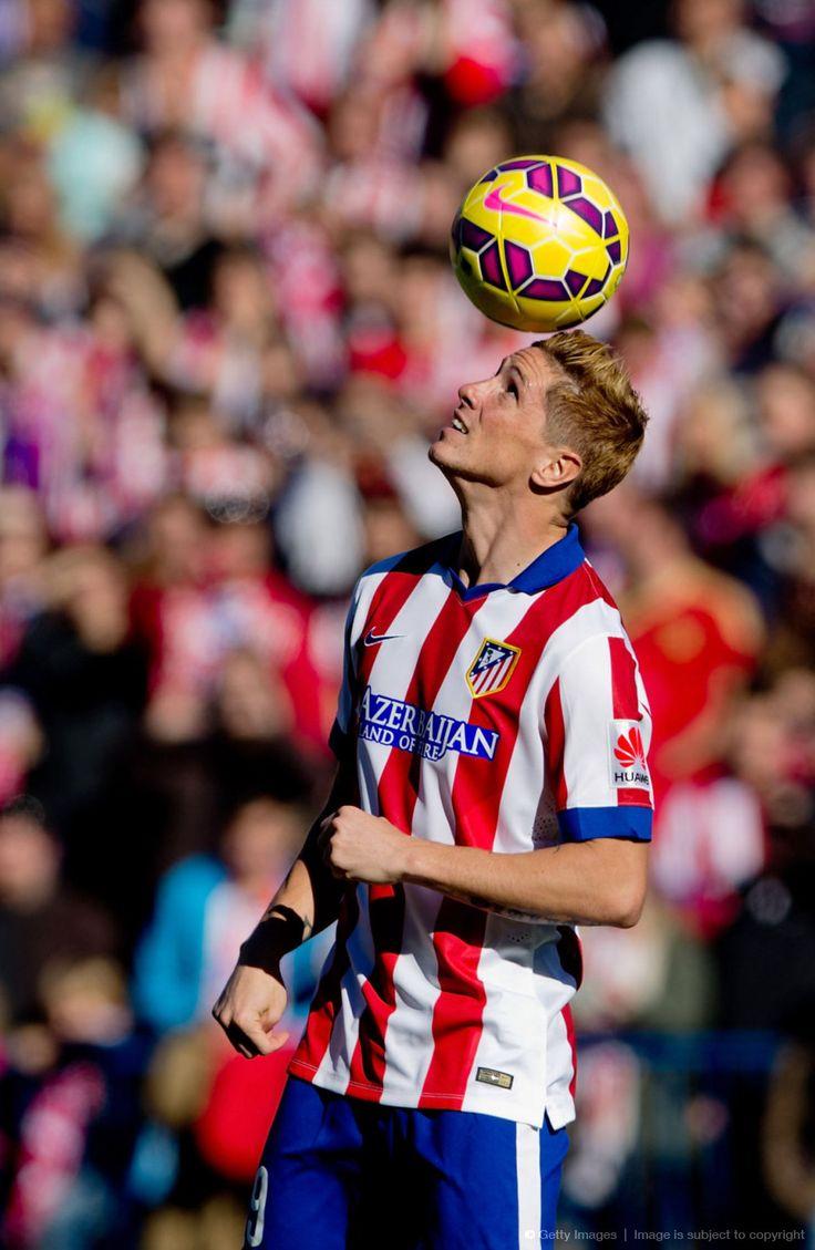 Fernando Torres at Vicente Calderon stadium, 04.01.2015.