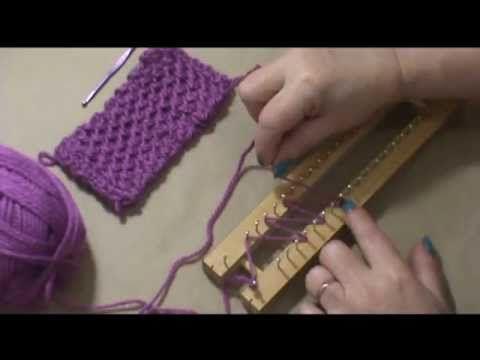 Lu Heringer - PONTO CRUZ NO TEAR DE PREGOS - PASSO A PASSO - YouTube