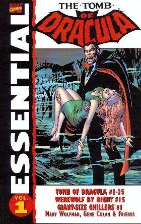 Essential Tomb of Dracula, Vol. 1 (Marvel Essentials) (v. 1) by Marv Wolfman http://smile.amazon.com/dp/078510920X/ref=cm_sw_r_pi_dp_BFKzub0FEMF0V