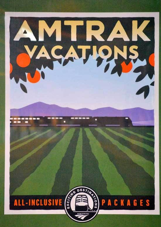 42 Best Travel Amtrak Posters Images On Pinterest Travel