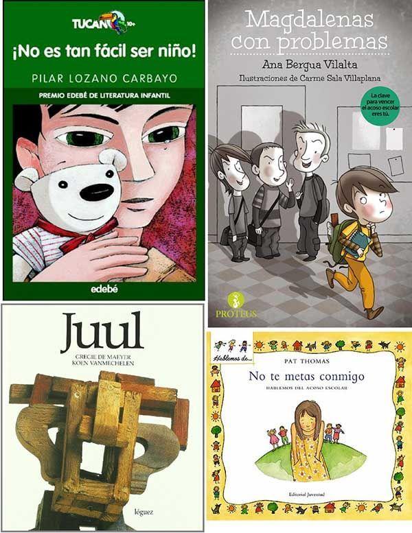 libros para niños sobre la no violencia y el acoso escolar