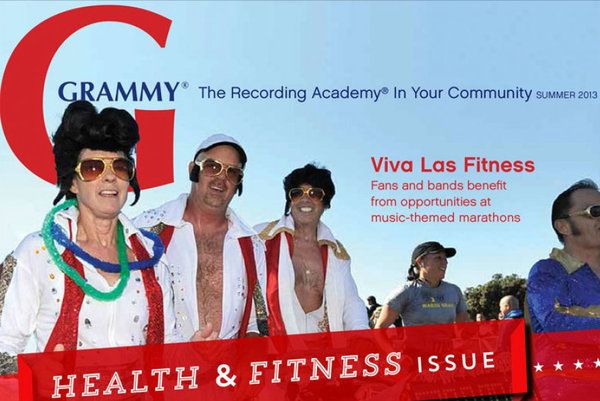 Just in time for the season of shaping up and slimming down, the Health & Fitness issue of GRAMMY magazine is now available.