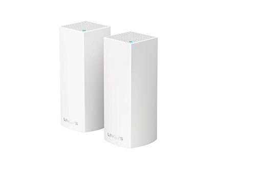 Linksys Velop Tri-band AC4400 Whole Home WiFi Mesh System 2-Pack (coverage up to 4000 sq. ft) Works with Amazon Alexa Linksys Tri band AC4400 System coverage is a great pick from the top selling products in PC category in USA. Click below to see its Availability and Price in YOUR country.