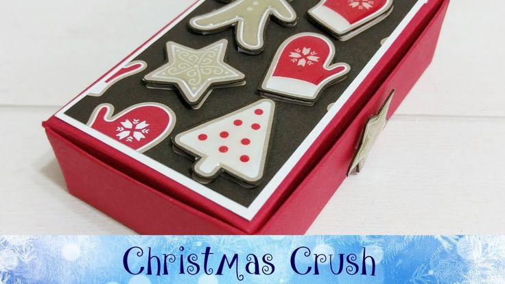 Christmas Crush Day 20 - Gift Card Box featuring Stampin' Up! Products