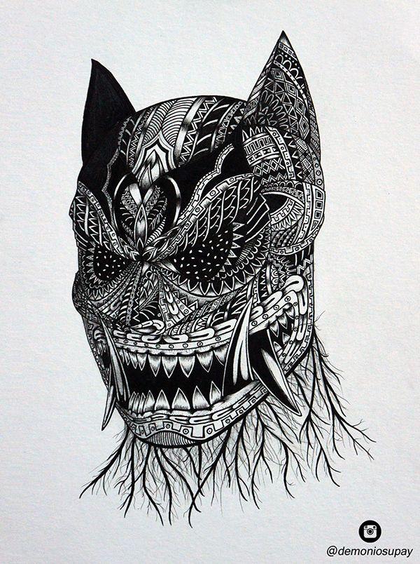 Batman //Inspiración Chavín