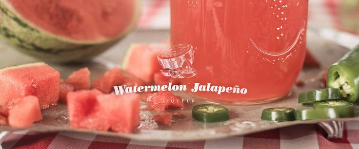 Watermelon infused vodka ~ Recipe and step-by-step instructions for making your own watermelon and jalapeño flavored liqueur with Everclear alcohol. For more drink recipes using Everclear alcohol, visit our website.