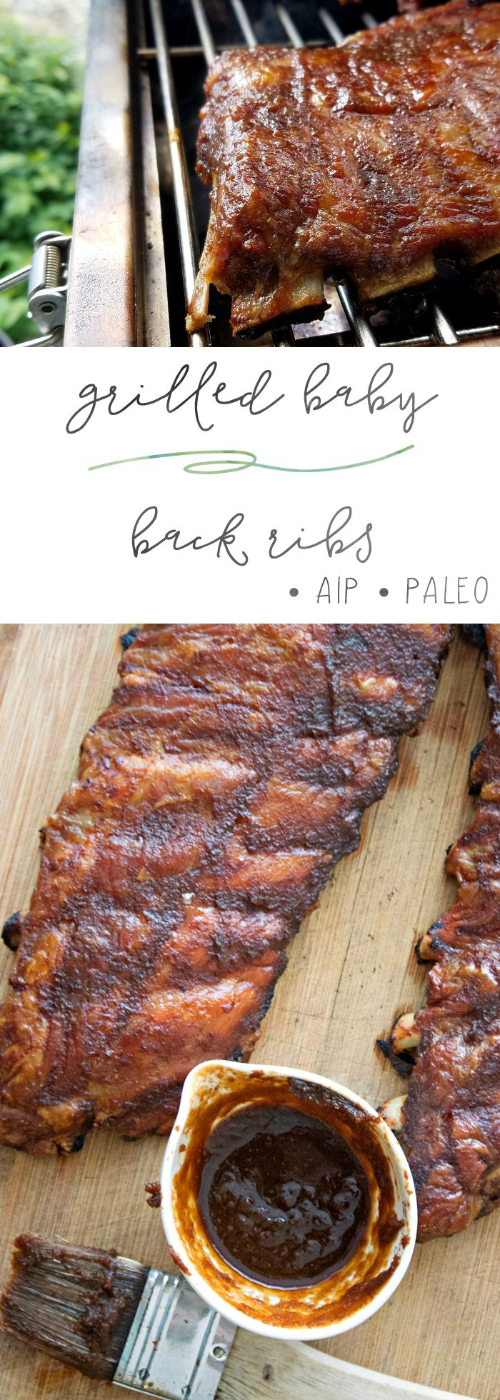 Richie's Grilled Baby Back Ribs Recipe — Dishmaps