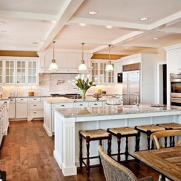 Dream Kitchen Designs With Islands: 32 Best Kitchen/living Room Combo Images On Pinterest
