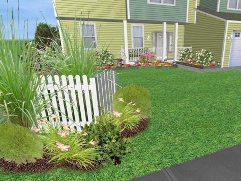 garden ideas to hide fence - Garden Ideas To Hide Fence