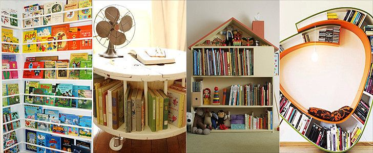 Awesome Bookshelf -19 Unique Ways to Store and Display Your Tots' Books