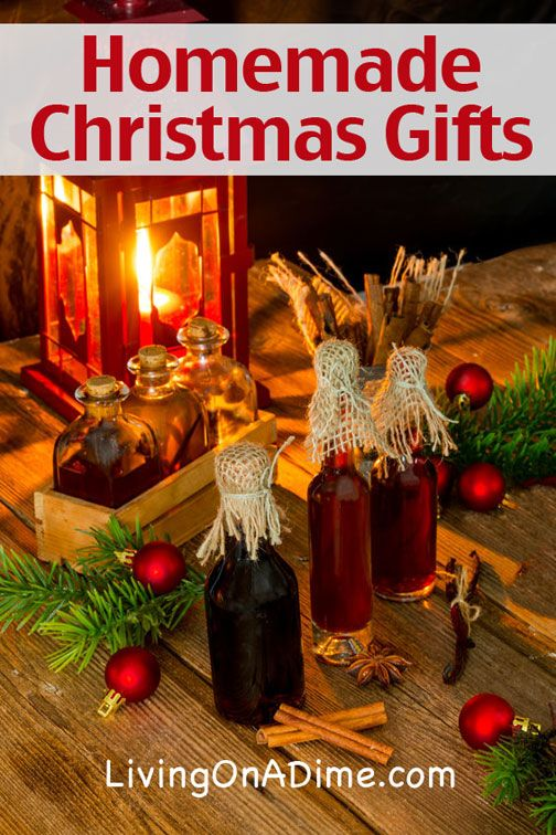These easy homemade Christmas Gift recipes include homemade vanilla and some homemade gifts that will be sure to bring joy to your family and friends!