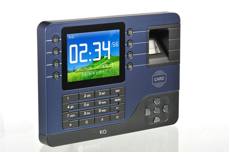 Livraison Gratuite! A-C091 Hors ligne/en ligne Carte PIN Biométrique D'empreintes Digitales Temps de présence avec le logiciel libre