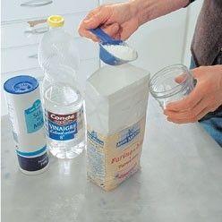 mélange pour produit d'entretien des cuivres