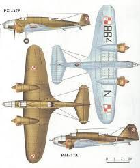 PZL.37 Łoś (moose) Polish medium bomber