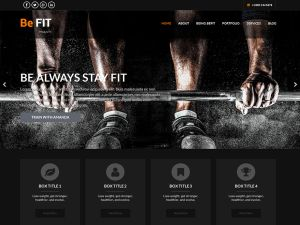 BeFit Wordpress Theme is a simple, flexible fitness, personal trainer responsive WordPress theme catering to gym, yoga, pilates, muscular, health club, fitness, trainers and other alike businesses. It can be used for...