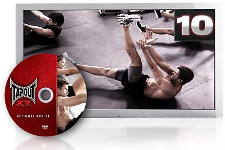 TapouT XT Ultimate Abs XT Good bye spare tire. Hello six-pack! This 15 minute ab blitzing workout is the key to getting rock hard TapouT Abs.