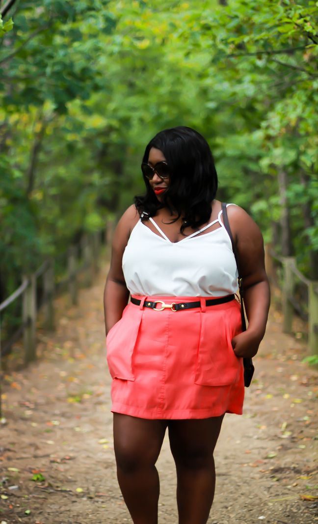 Shapely Chic Sheri - Curvy Fashion and Style Blog: Mini Me (plus-size outfit)
