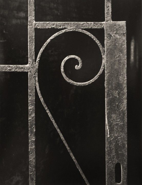 Aaron Siskind(American, 1903-1991)  Iron Work 6, NYC  1947  Gelatin silver print
