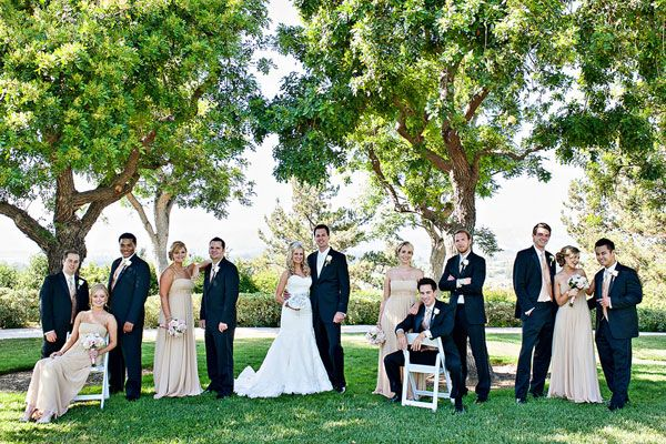 Great site for wedding planning--includes articles on how to handle an uneven bridal party and other wedding etiquette woes.