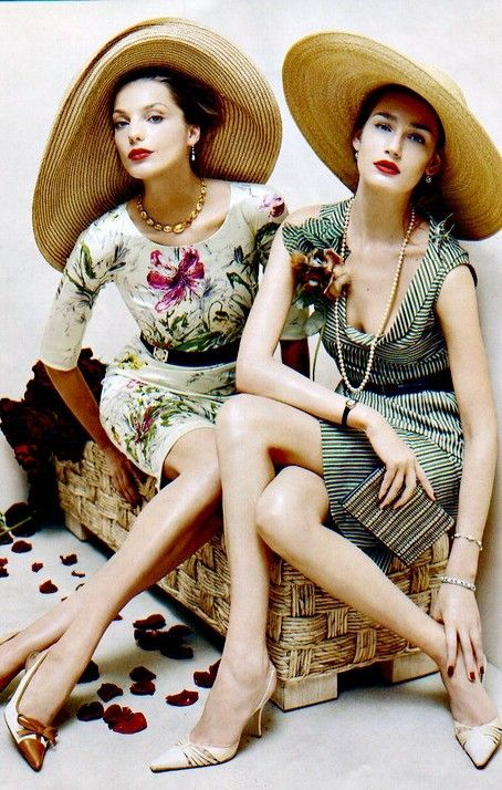 ♥ glamour girls in hats