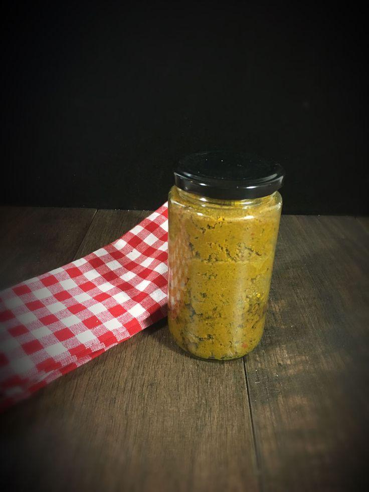 gelbe Currypaste selbst gemacht im Thermomix für Thai Curry Gerichte